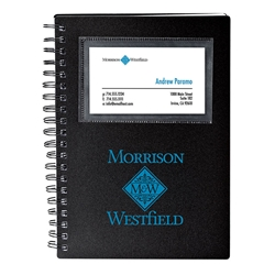 Concord Card Holder Notebook