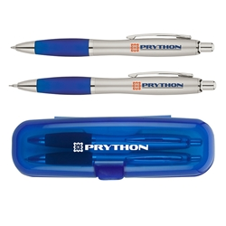 Dynamic Duo Pen & Pencil Set with Case